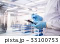 工場 働く タブレットの写真 33100753