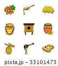 はちみつ 蜂蜜 蜜のイラスト 33101473
