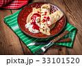 パンケーキ クレープ チーズの写真 33101520