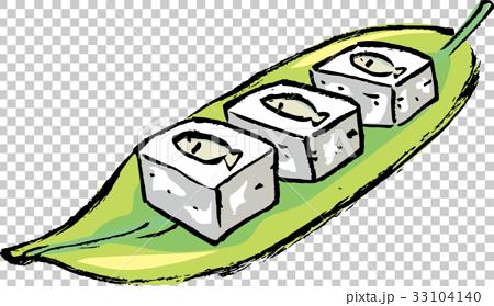 沖縄料理スクガラス豆腐イラスト 33104140