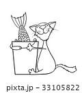 ねこ ネコ 猫のイラスト 33105822