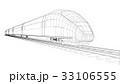電車 列車 快速のイラスト 33106555