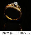 指輪 金 黄金のイラスト 33107765
