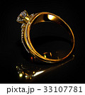指輪 金 黄金のイラスト 33107781
