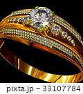 指輪 金 黄金のイラスト 33107784