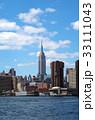 ブルックリンから見たエンパイア・ステート・ビル 33111043
