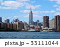 ブルックリンから見たエンパイア・ステート・ビル 33111044
