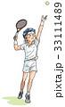 テニスプレイヤー 33111489
