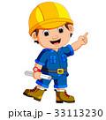 建築士 大工 大工さんのイラスト 33113230
