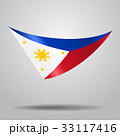 Philippines flag background. Vector illustration. 33117416
