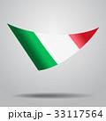 Italian flag background. Vector illustration. 33117564