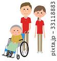 介護スタッフ 高齢者 スタッフのイラスト 33118883