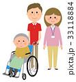 介護スタッフ スタッフ おばあさんのイラスト 33118884