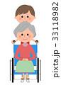 介護スタッフ 女性 スタッフのイラスト 33118982
