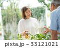ガーデニング 夫婦 シニア ライフスタイル イメージ 33121021