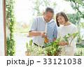 ガーデニング 夫婦 シニア ライフスタイル イメージ 33121038