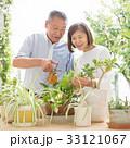ガーデニング 夫婦 シニア ライフスタイル イメージ 33121067