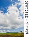 北海道 夏 草原の写真 33121080