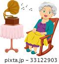 ちくおんき 蓄音機 音楽のイラスト 33122903