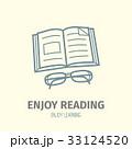 書籍 アイコン ベクトルのイラスト 33124520