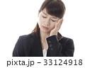 頭痛に悩むOLイメージ 33124918