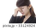 頭痛に悩むOLイメージ 33124924