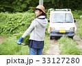 女性 農業体験 農作業の写真 33127280