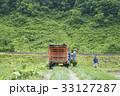 田植え 農家 男性 33127287