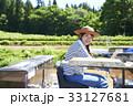 女性 農業体験 農家の写真 33127681