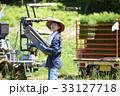 女性 農業体験 田植えの写真 33127718