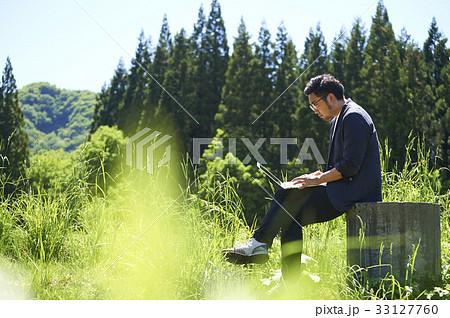 農業 テクノロジー データ 男性 33127760