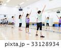エアロビクス フィットネス エアロビ スポーツジム 女性 エクササイズ 33128934