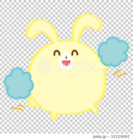 aid, cheering, bunny 33129692