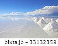 塩湖 ウユニ塩湖 湖の写真 33132359