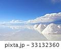 塩湖 ウユニ塩湖 湖の写真 33132360