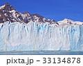 氷河 ペリトモレノ氷河 ロス・グラシアレス国立公園の写真 33134878