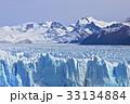 氷河 ペリトモレノ氷河 ロス・グラシアレス国立公園の写真 33134884