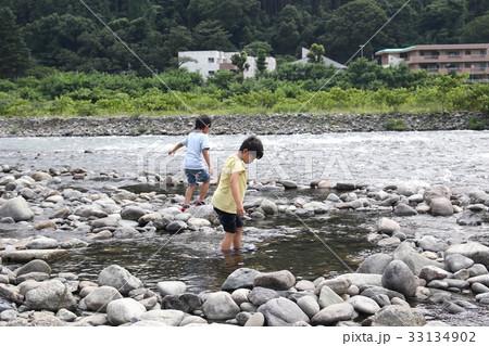 川遊び 33134902