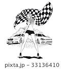 車 自動車 ベクトルのイラスト 33136410