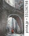 騎士 古い きょうりょうのイラスト 33136798
