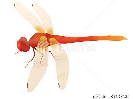 赤とんぼのイラスト素材 33138580 Pixta