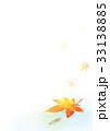 めだかともみじ背景タテ(水面) 33138885