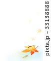 赤とんぼとメダカ背景タテ(紅葉) 33138888