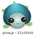 癒し系 涙の海カメ PNG 33143040