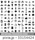 100 100 天然のイラスト 33154424