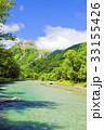 山岳 川 清流の写真 33155426