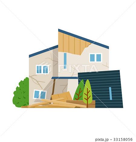 一軒家 壊れる 33158056