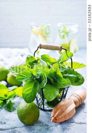 ingredients for mojito 33162693