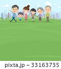 人物 家族 3世代のイラスト 33163735