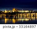 夜景 プラハ プラハ城の写真 33164897